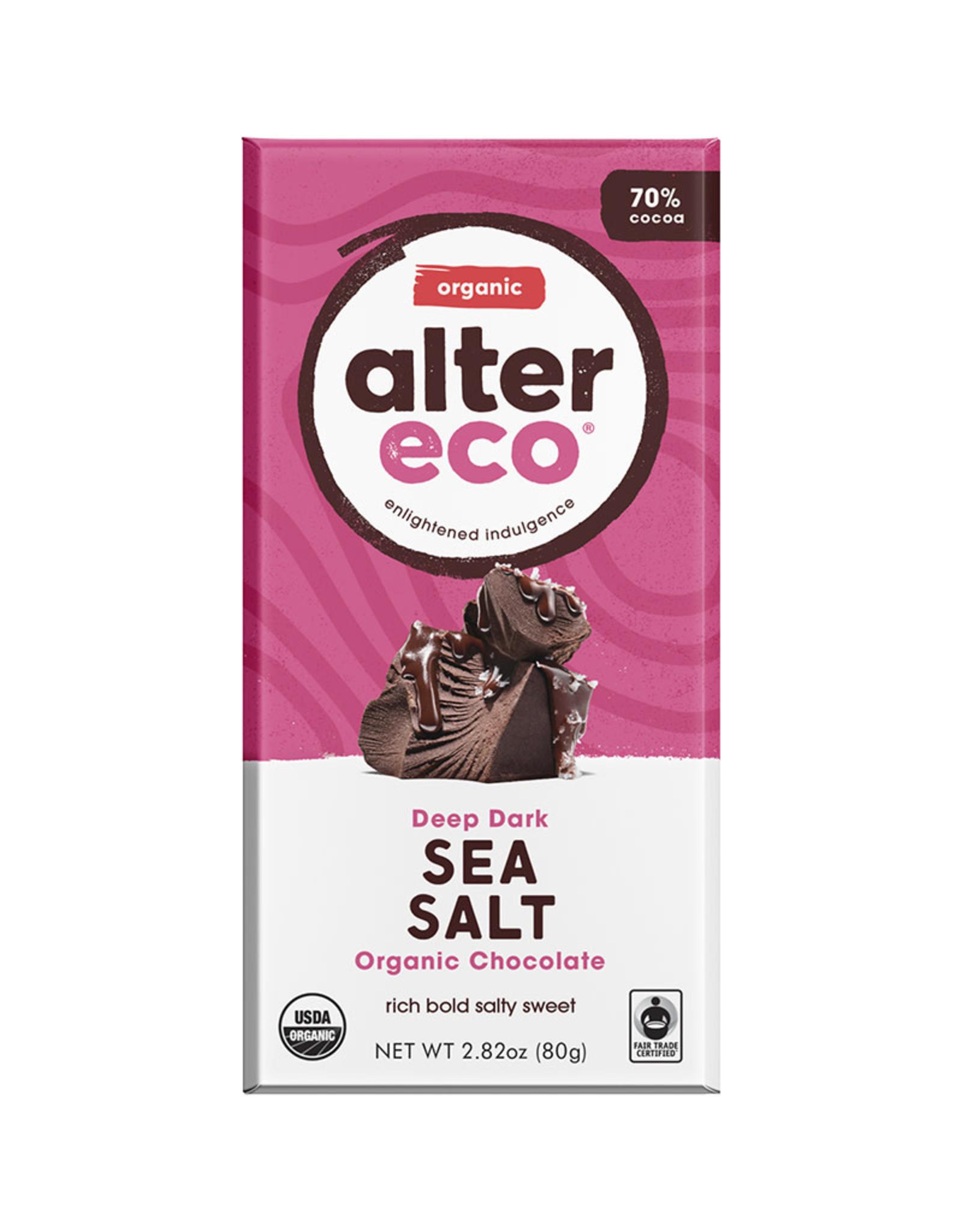 Alter Eco Alter Eco - Chocolate Bar, Dark Sea Salt