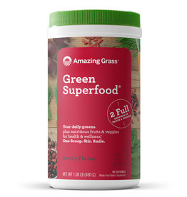 Amazing Grass Amazing Grass - Green Superfood, Berry (480g)