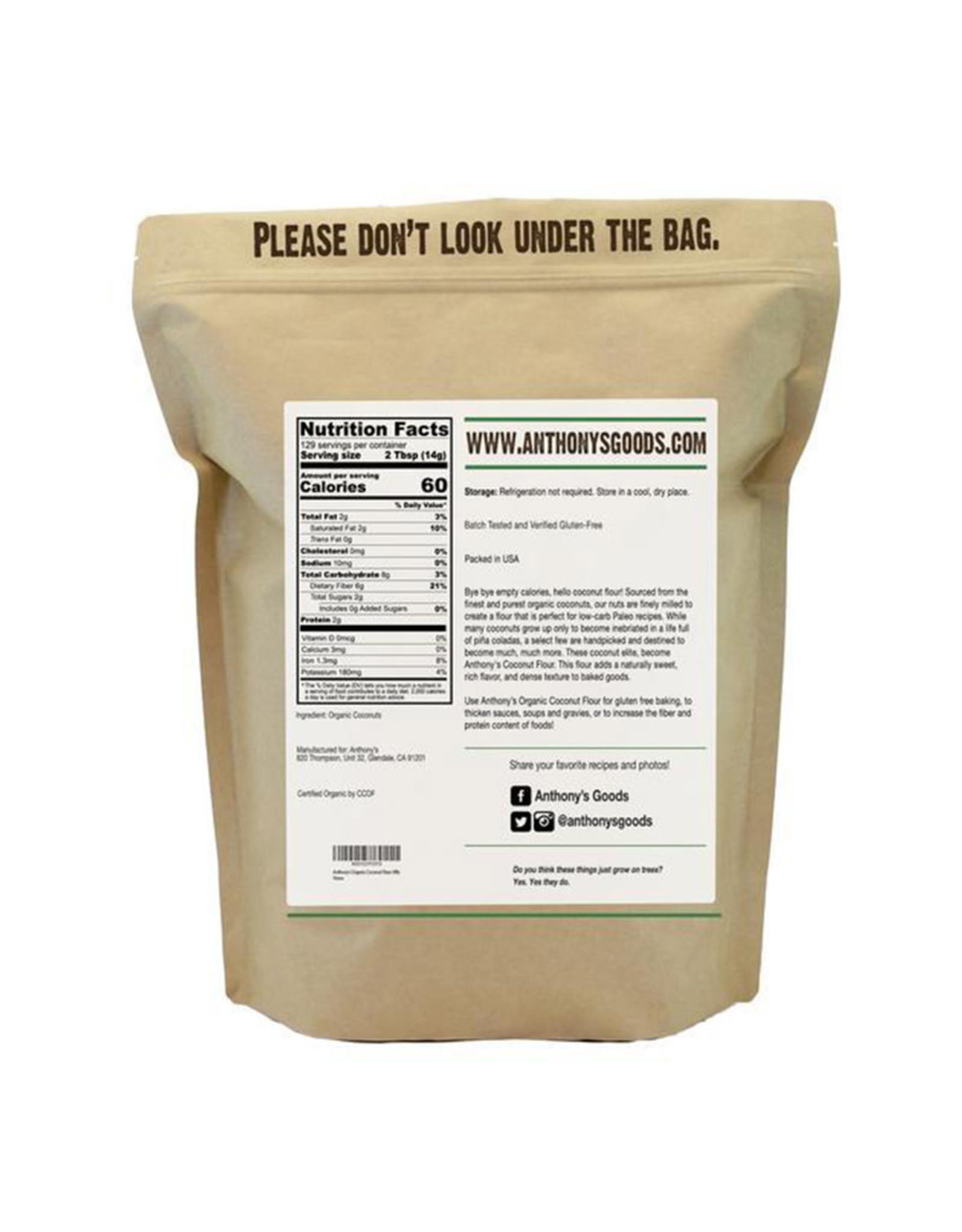 Anthonys Goods Anthonys Goods - Organic Coconut Flour (1.81kg)
