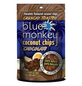 Blue Monkey Blue Monkey - Baked Coconut Chips, Dark Chocolate (40g)