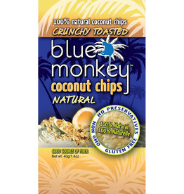 Blue Monkey Blue Monkey - Baked Coconut Chips, Natural (40g)