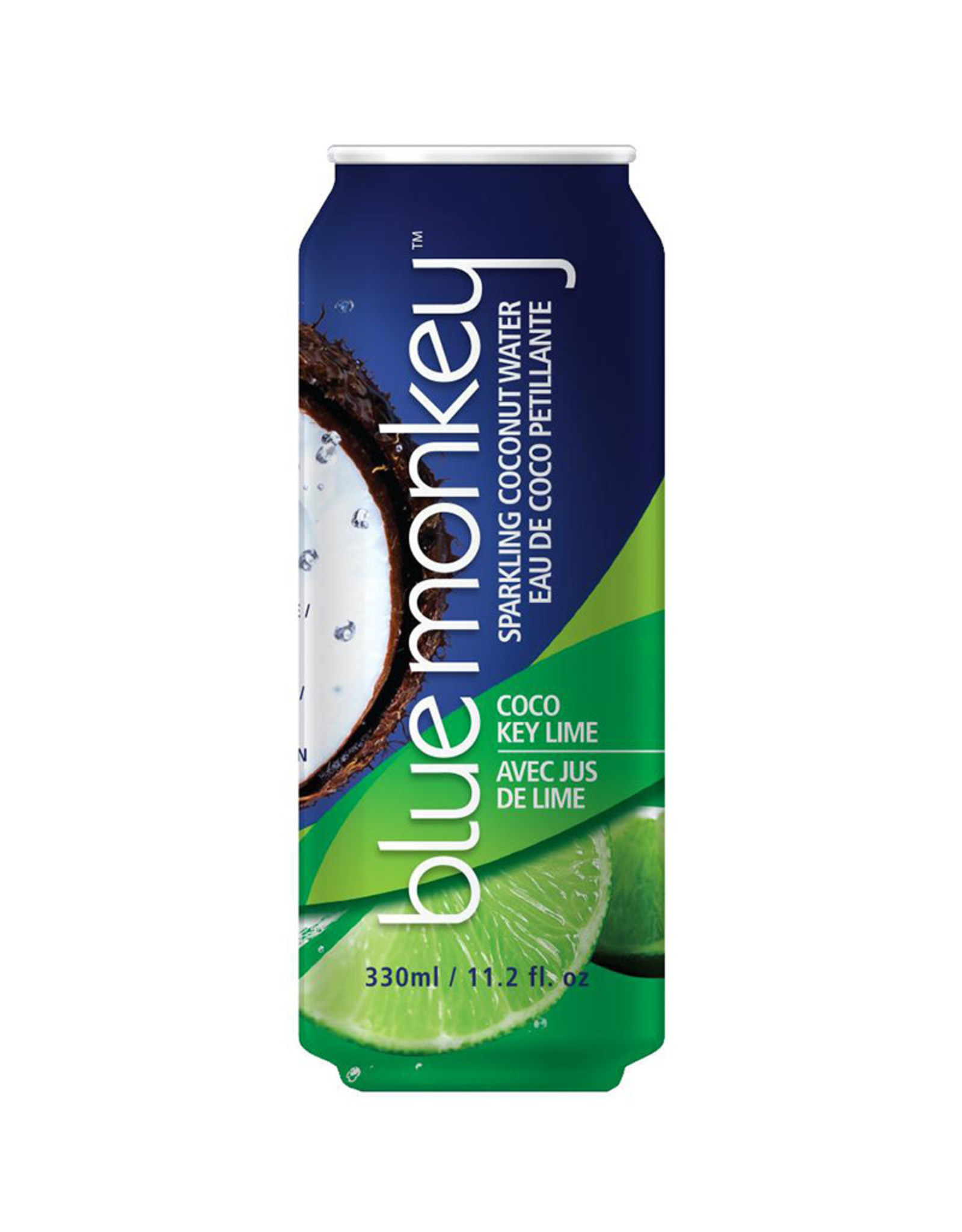 Blue Monkey Blue Monkey - Sparkling Coconut Water, Kiwi (330ml)