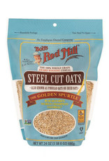 Bobs Red Mill Bobs Red Mill - GF Organic Oats, Steel Cut (680g)