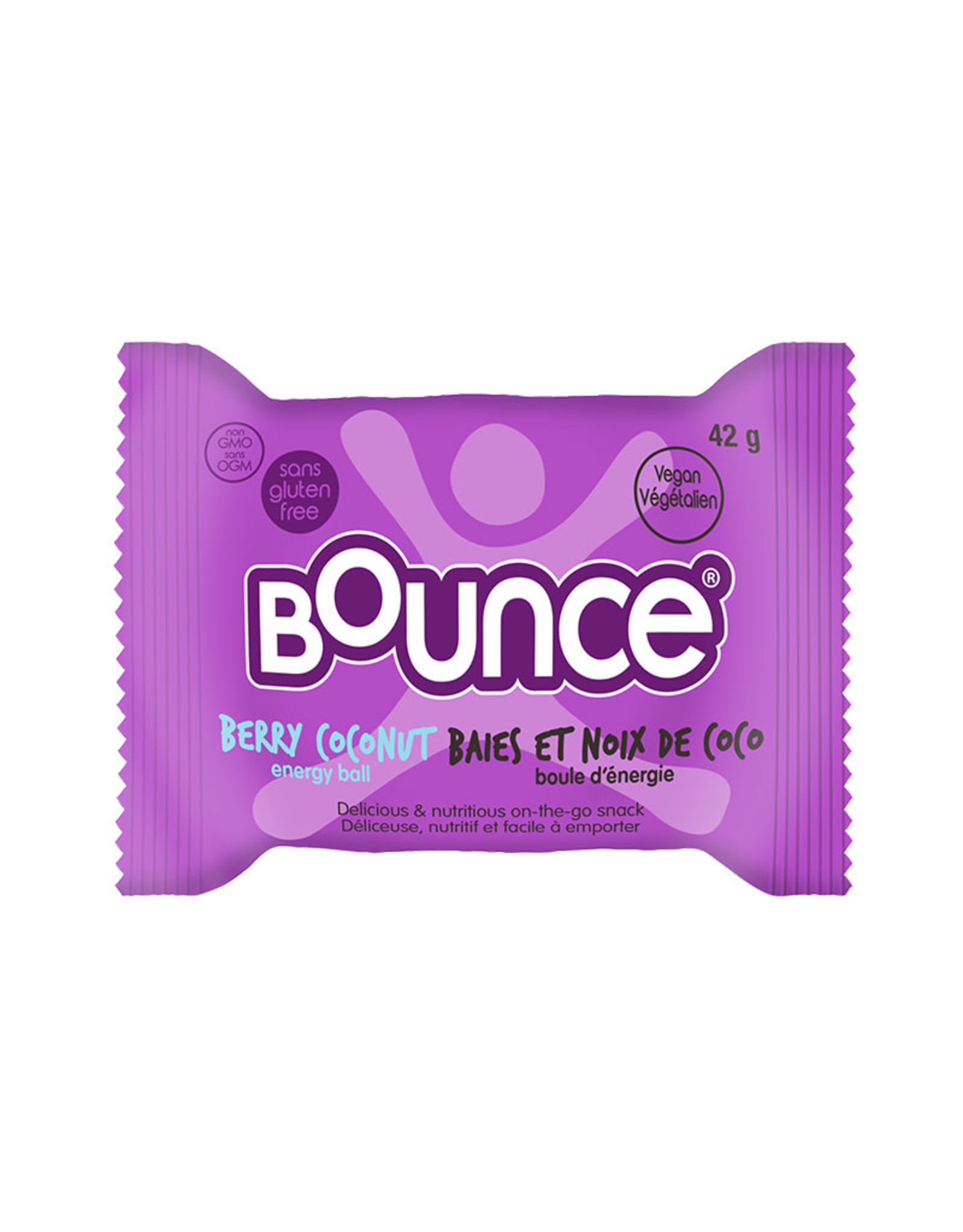 Bounce Bounce - Energy Balls, Coco-Berry Vitality Burst (42g)