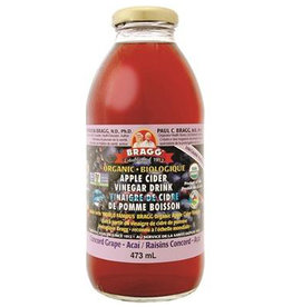 Bragg Bragg - Apple Cider Vinegar Drink, Concord Grape Acai (473ml)