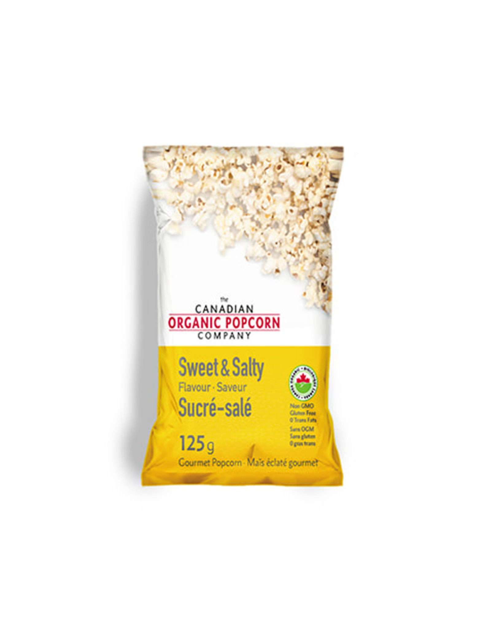 Canadian Organic Popcorn Canadian Organic Popcorn - Sweet & Salty (125g)