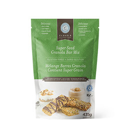 Cloud 9 Bakery Cloud 9 Bakery - GF Super Seed Granola Bar Mix (435g)