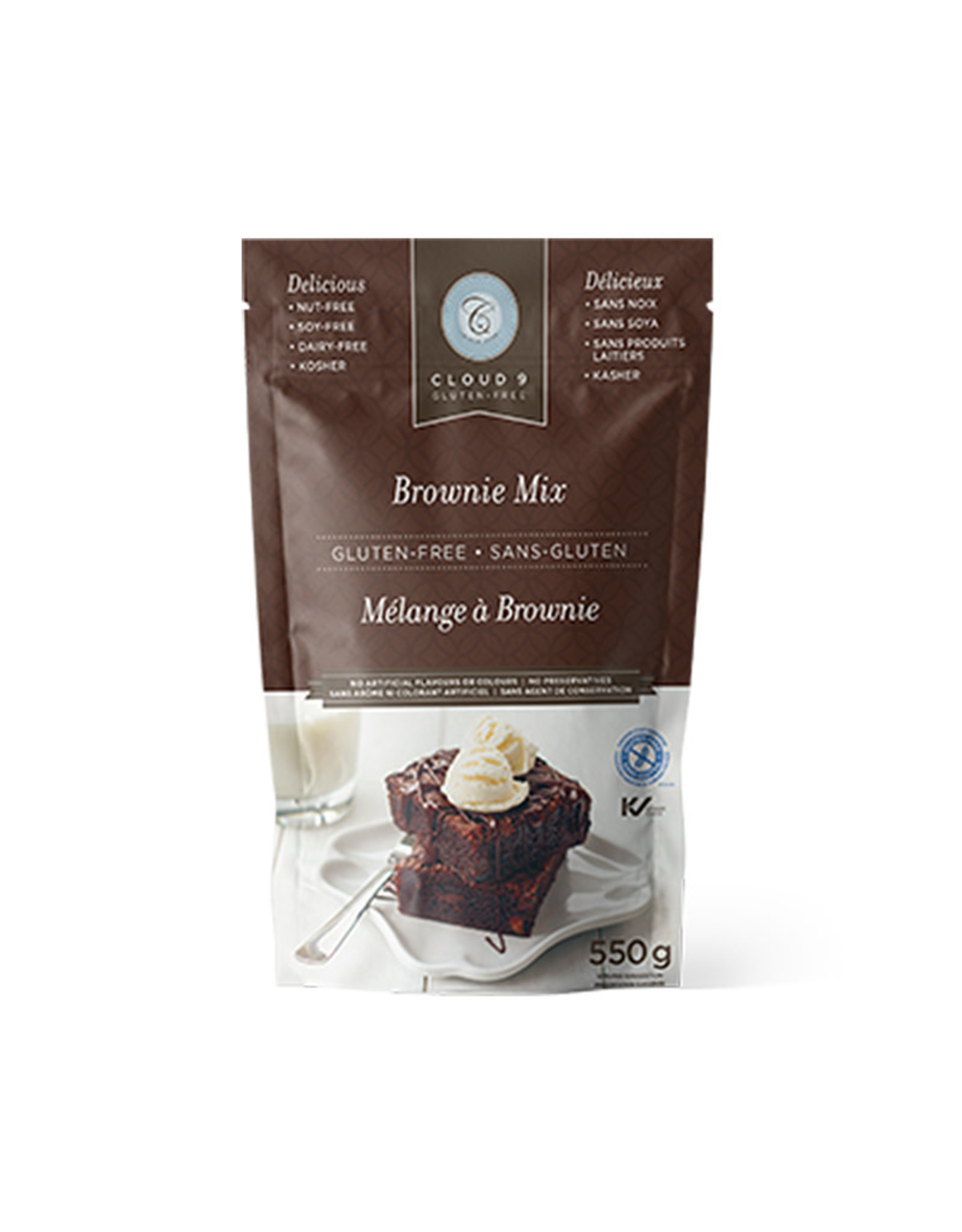 Cloud 9 Bakery Cloud 9 Bakery - GF Brownie Mix (550g)
