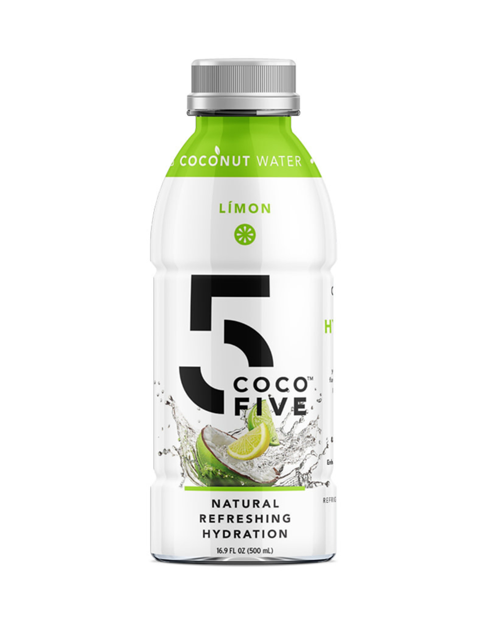 Coco5 Coco5 - Coconut Water, Limon (500ml)