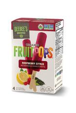 Deebees Organics Deebees Organics - FruitPops, Raspberry Citrus