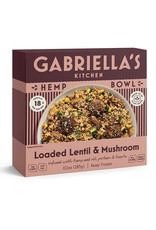 Gabriellas Kitchen Gabriellas Kitchen - Hemp Bowls, Loaded Lentil & Mushroom (283g)