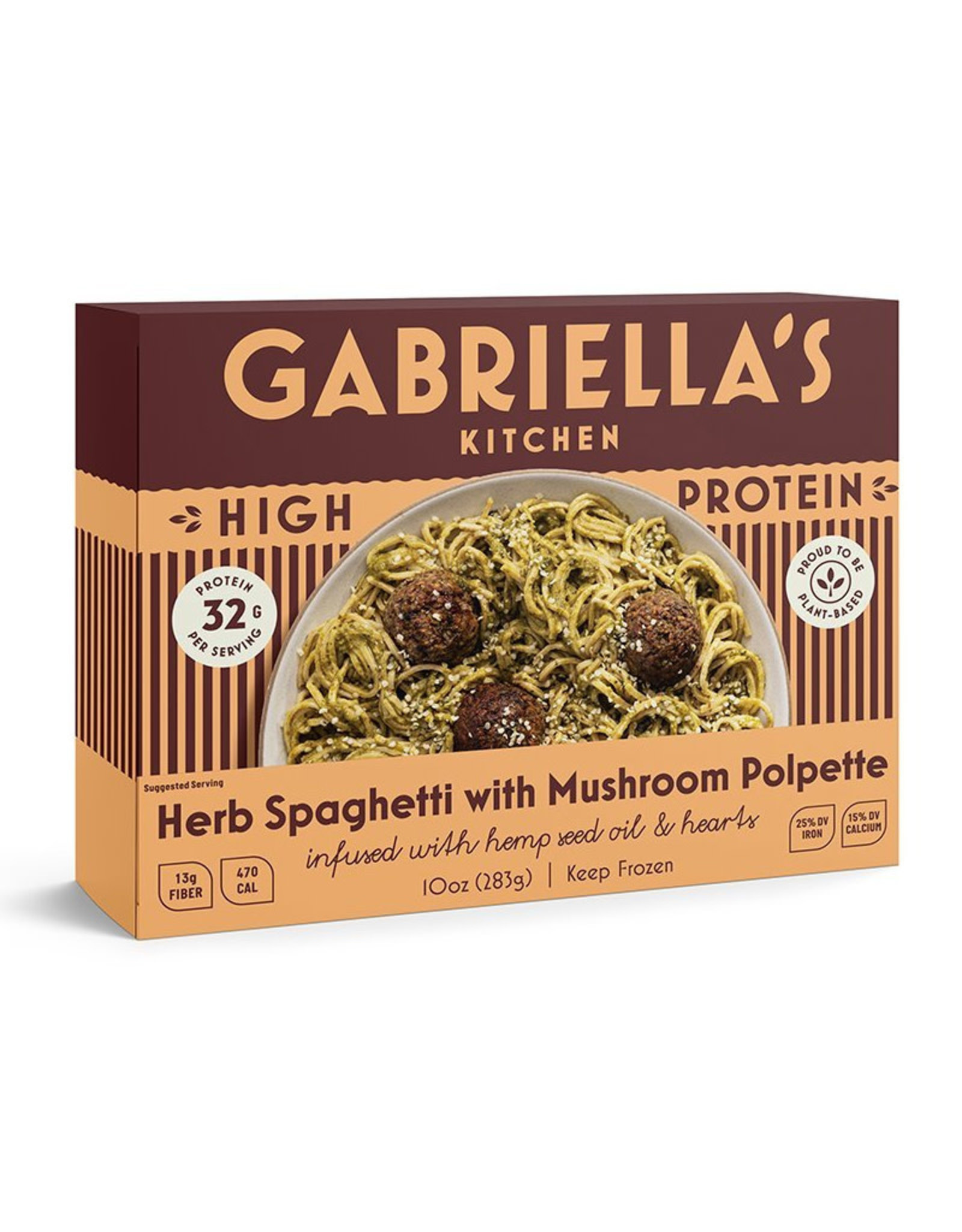 Gabriellas Kitchen Gabriellas Kitchen - High Protein, Spaghetti with Meatballs (300g)
