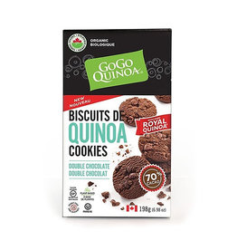 Gogo Quinoa GOGO Quinoa - Cookies, Double Chocolate (198g)