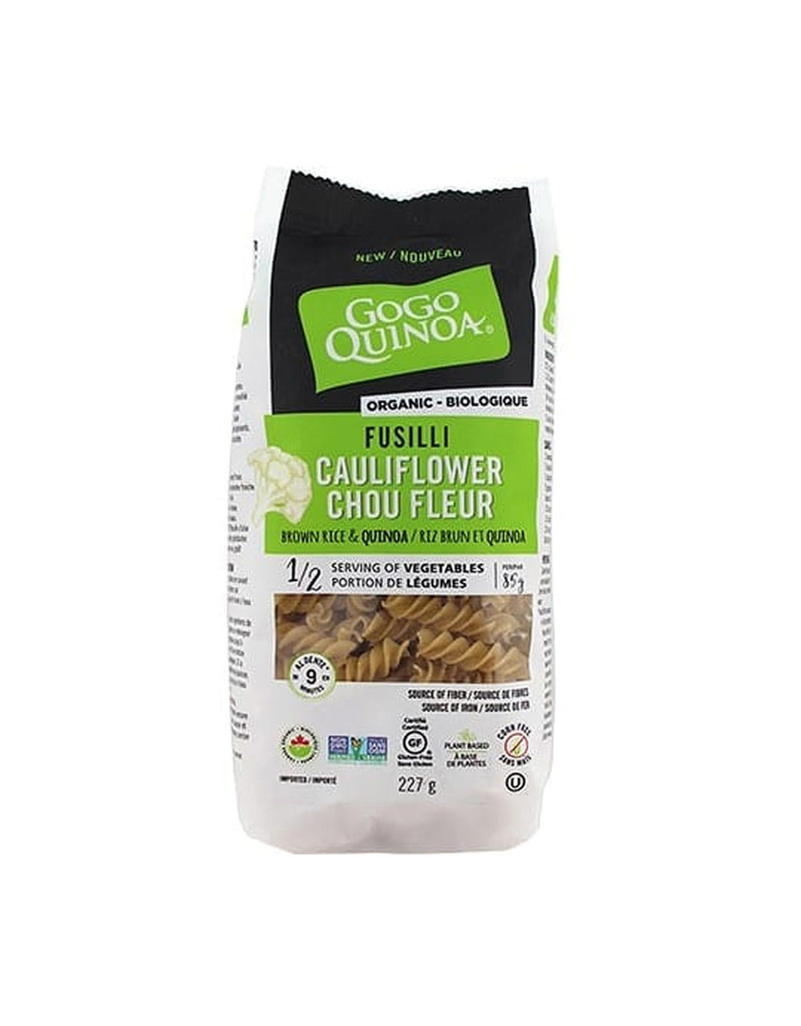 Gogo Quinoa GOGO Quinoa - Pasta, Organic Cauliflower Fusilli (227g)