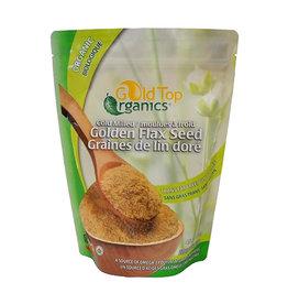 Gold Top Organics Gold Top Organics - Milled Flax Seed, Golden (454g)