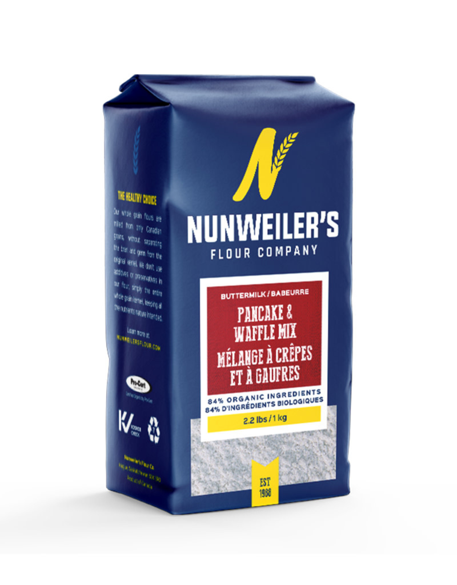 Grandma Nunweilers Nunweilers - Pancake & Waffle Mix, Buttermilk