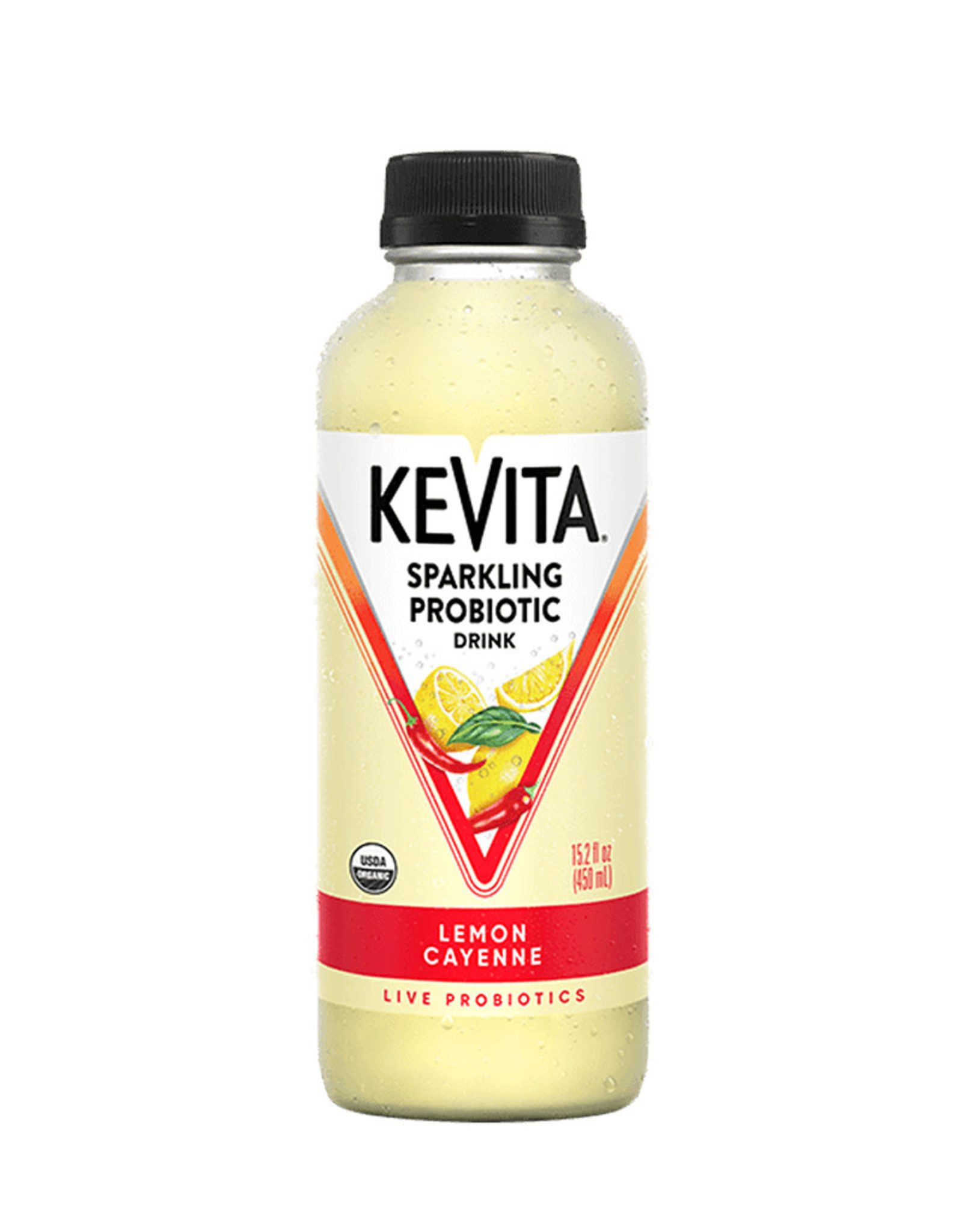 KeVita KeVita - Kefir Water, Lemon Cayenne (450ml)