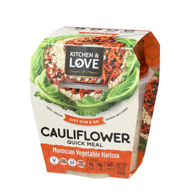 Kitchen & Love Kitchen & Love - Cauliflower Quick Meal, Moroccan Vegetable Harissa (225g)