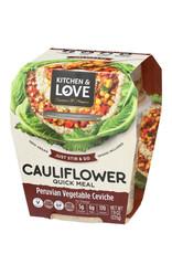Kitchen & Love Kitchen & Love - Cauliflower Quick Meal, Peruvian Vegetable Ceviche (225g)