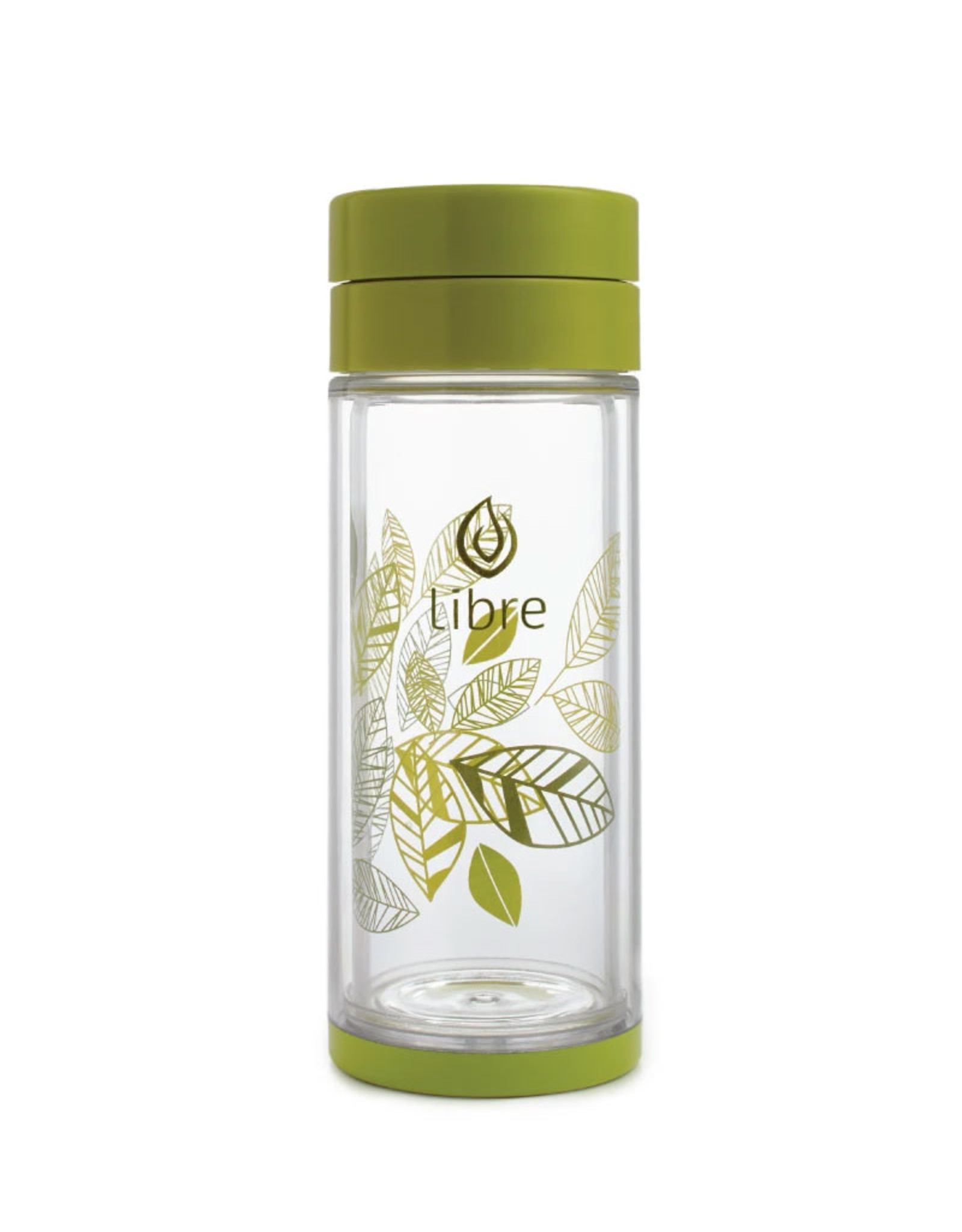 Libre Tea Libre - Glass Tea Infuser, Green (420ml)