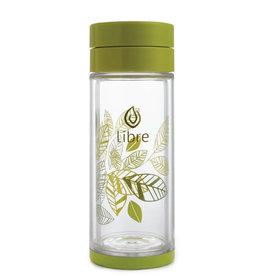 Libre Tea Libre - Glass Tea Infuser, Green (420ml)