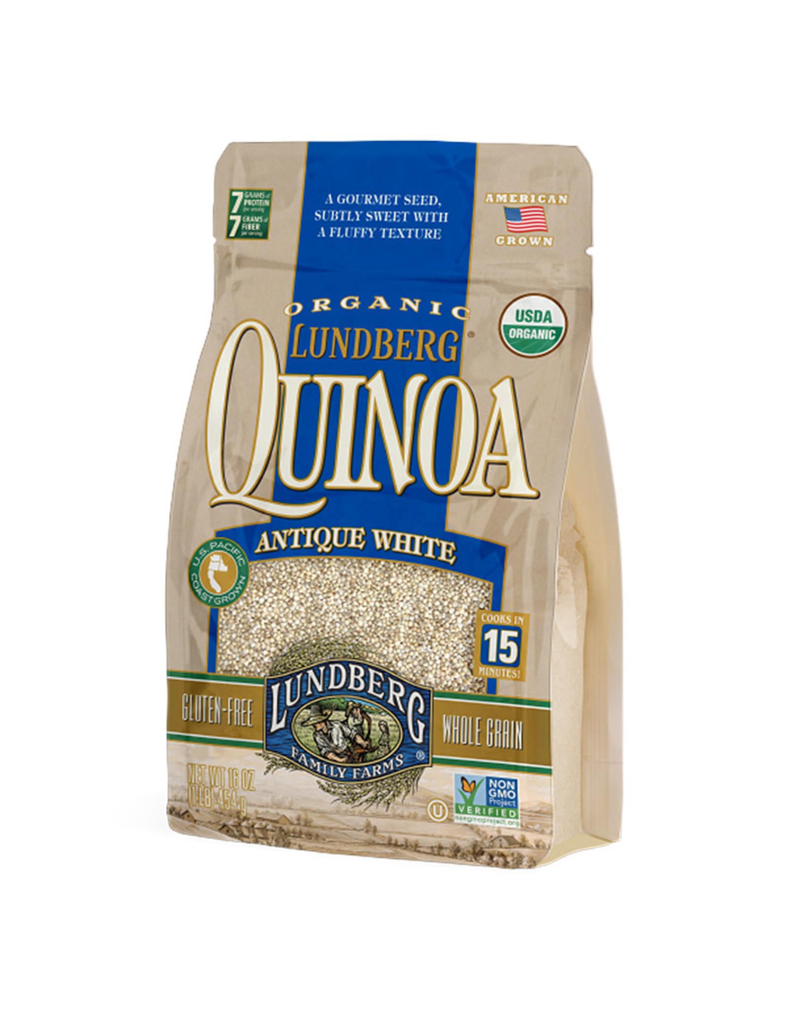 Lundberg Lundberg - Organic Quinoa, Antique White (454g)