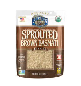 Lundberg Lundberg - Sprouted Brown Basmati Rice (454g)