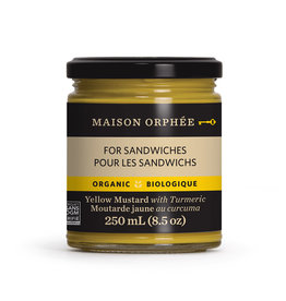 Maison Orphee Maison Orphee - Yellow Mustard with Turmeric, Squeeze (250ml)