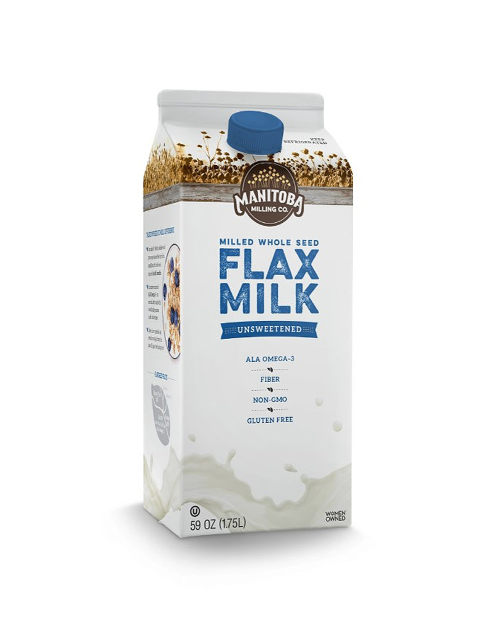 Manitoba Milling Manitoba Milling - Flax Beverage, Unsweetened (1.75L)