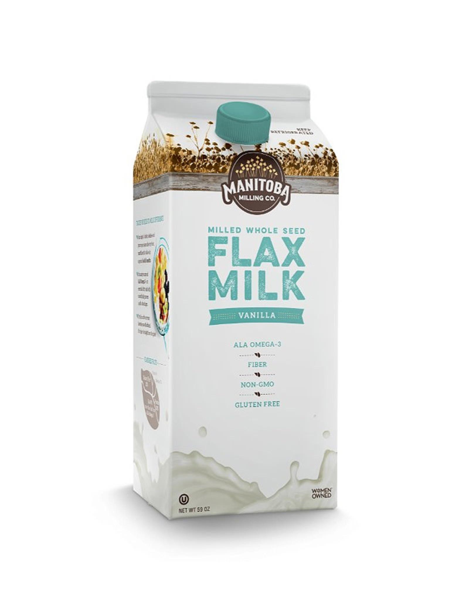 Manitoba Milling Manitoba Milling - Flax Beverage, Vanilla (1.75L)