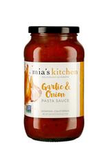 Mias Kitchen Mias Kitchen - Pasta Sauce, Gourmet Garlic & Onion (710ml)