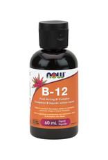NOW Foods NOW Foods - B-12, B-Complex Liquid (60ml)