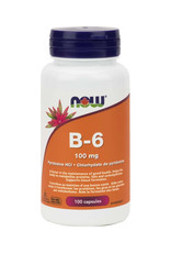 NOW Foods NOW Foods - B-6 100mg (100Cap)