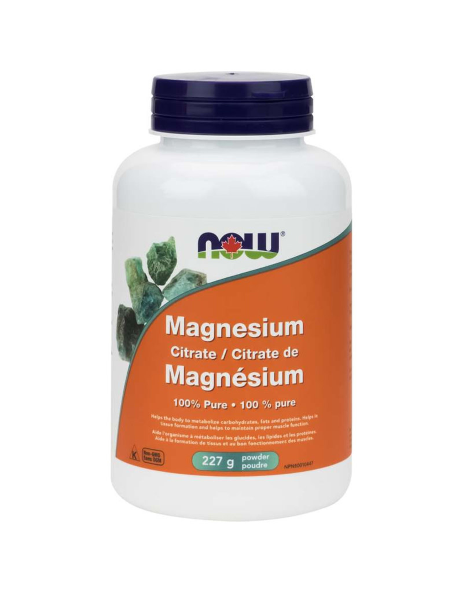 NOW Foods NOW Foods - Magnesium Citrate 100% Pure Powder