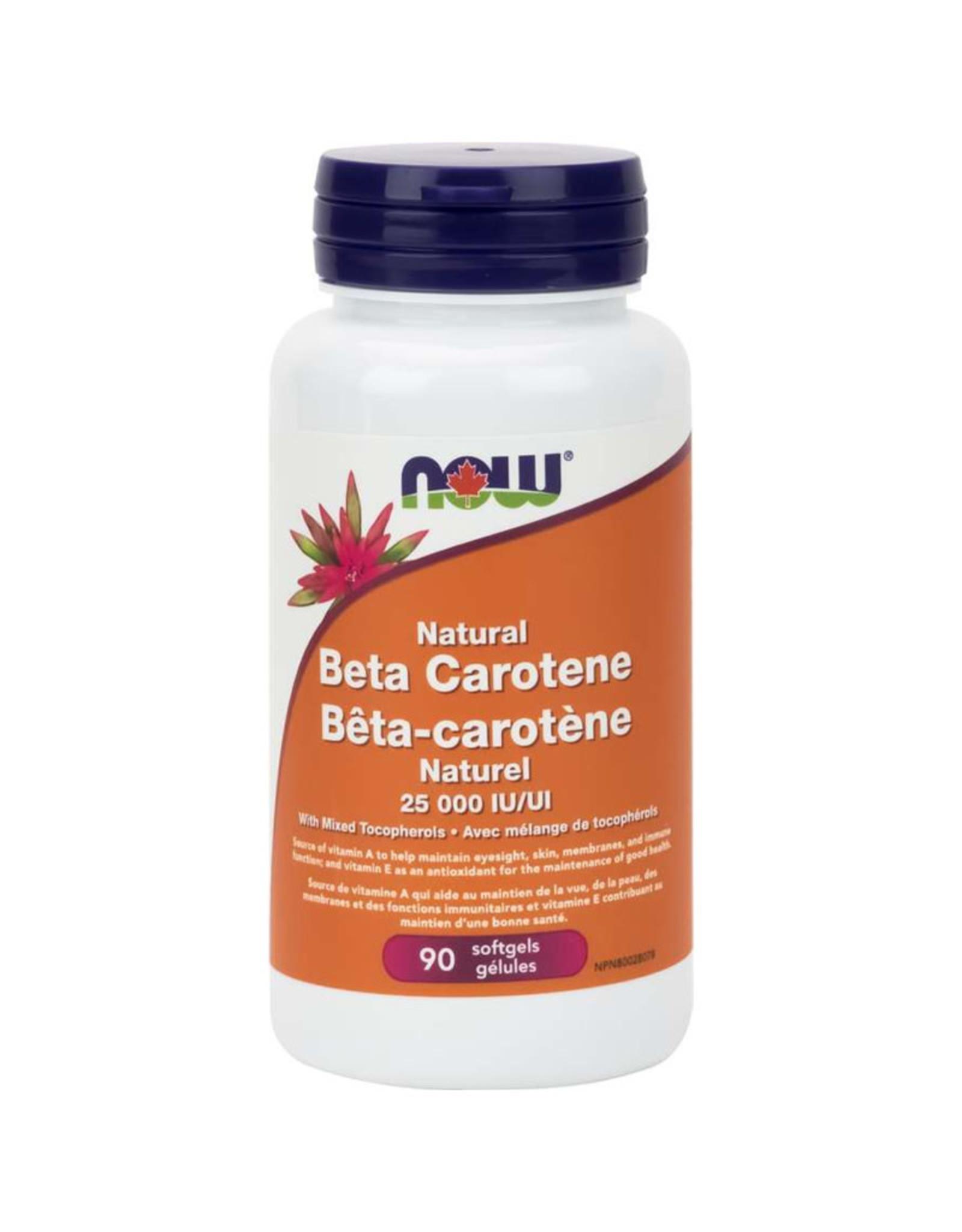 NOW Foods NOW Foods - Natural Beta Carotene 25,000IU (90gel)