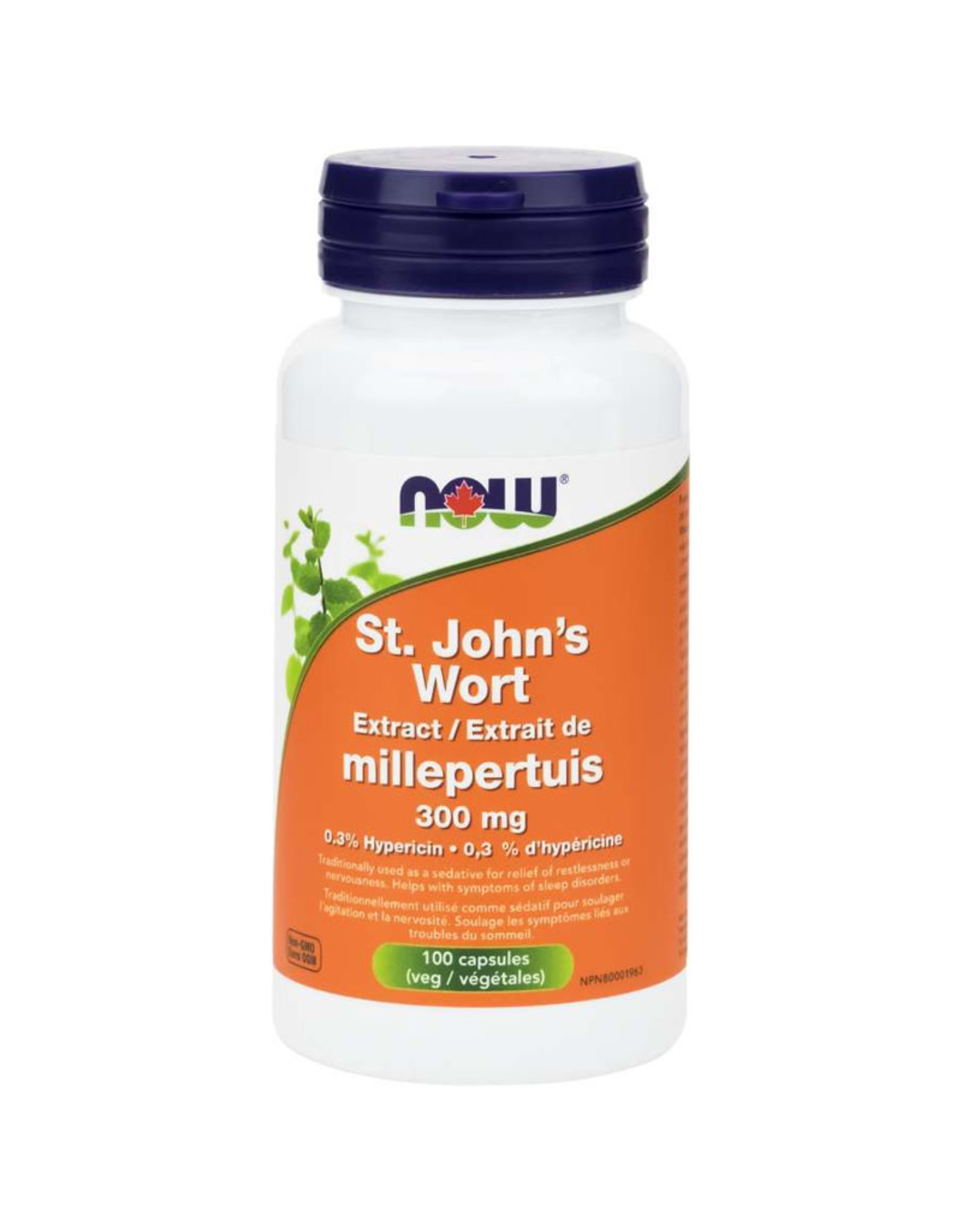 NOW Foods NOW Foods - St Johns Wort .3% 300mg (100vcaps)