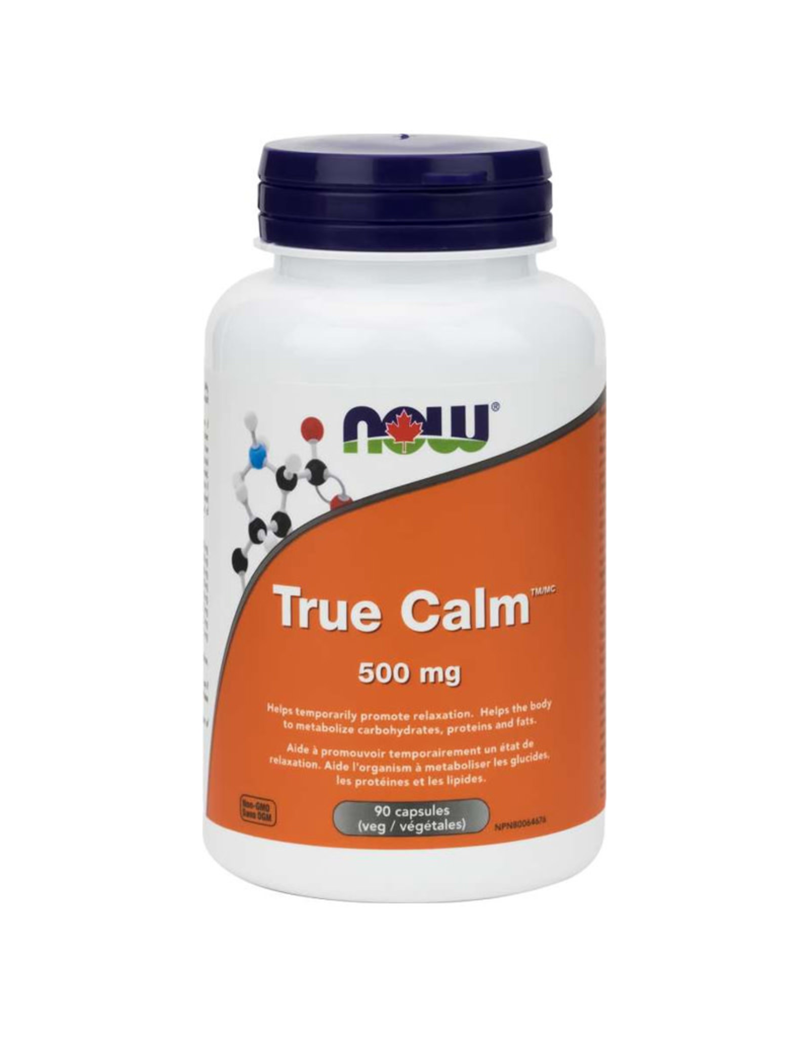 NOW Foods NOW Foods - True Calm Relaxer 500mg (90vcaps)