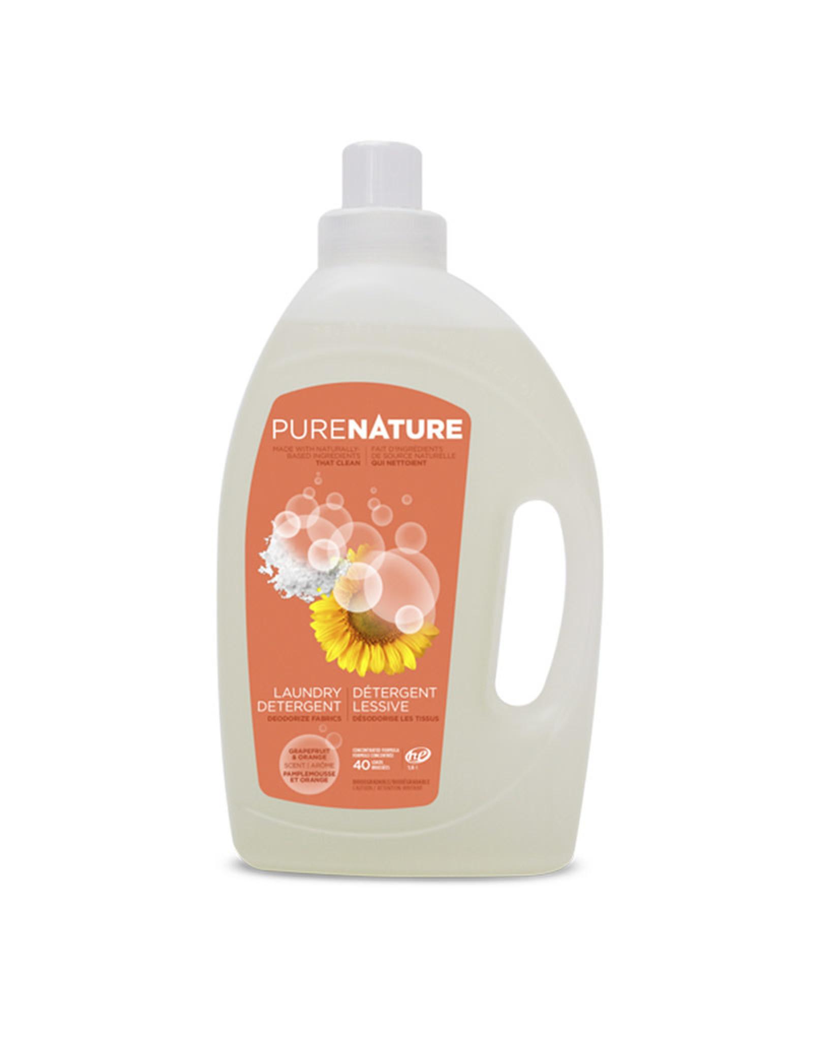 Purenature Purenature - Laundry Detergent, Orange & Grapefruit (1.6L)