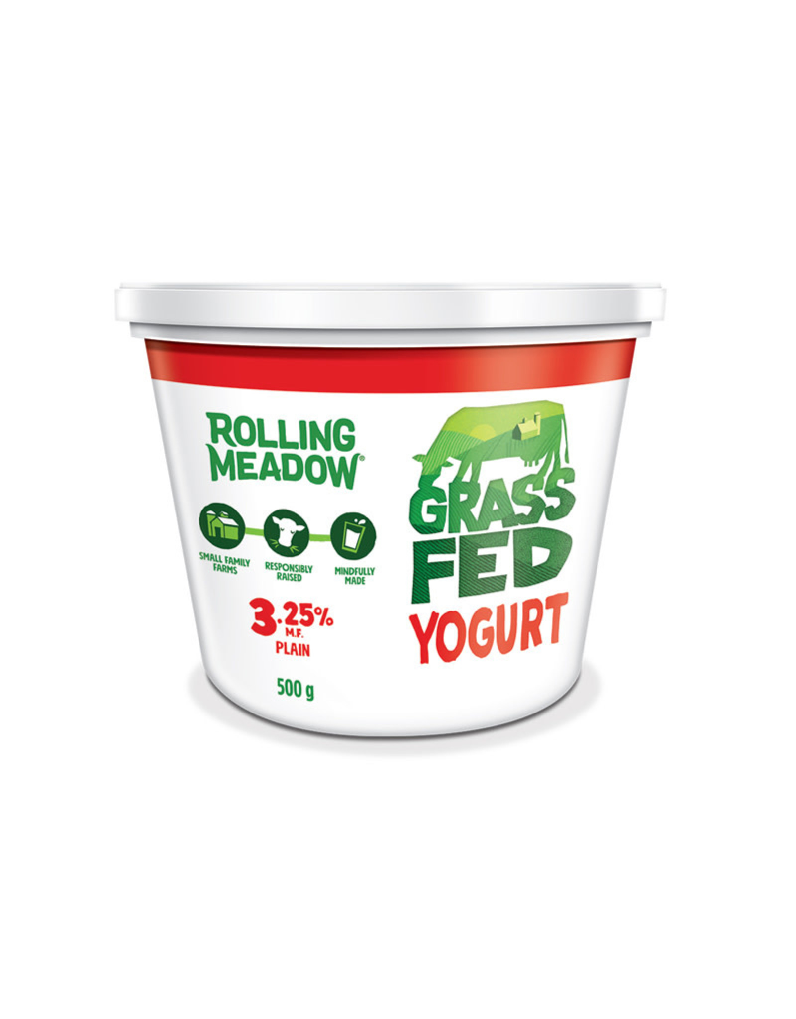 Rolling Meadow Rolling Meadow - Grass Fed Yogurt 3.25% (500g)
