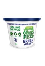 Rolling Meadow Rolling Meadow - Grass Fed Greek Yogurt 2%, Plain (500g)