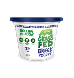 Rolling Meadow Rolling Meadow - Grass Fed Greek Yogurt 2%, Plain (500g)