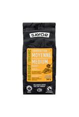 Savor Savor - Organic Ground Coffee, Medium Roast (340g)