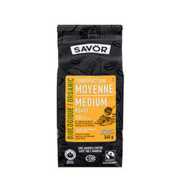 Savor Savor - Organic Ground Coffee, Medium Roast (340g)