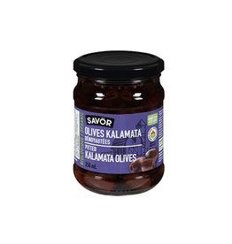 Savor Savor - Organic Olives, Pitted Kalamata (250ml)