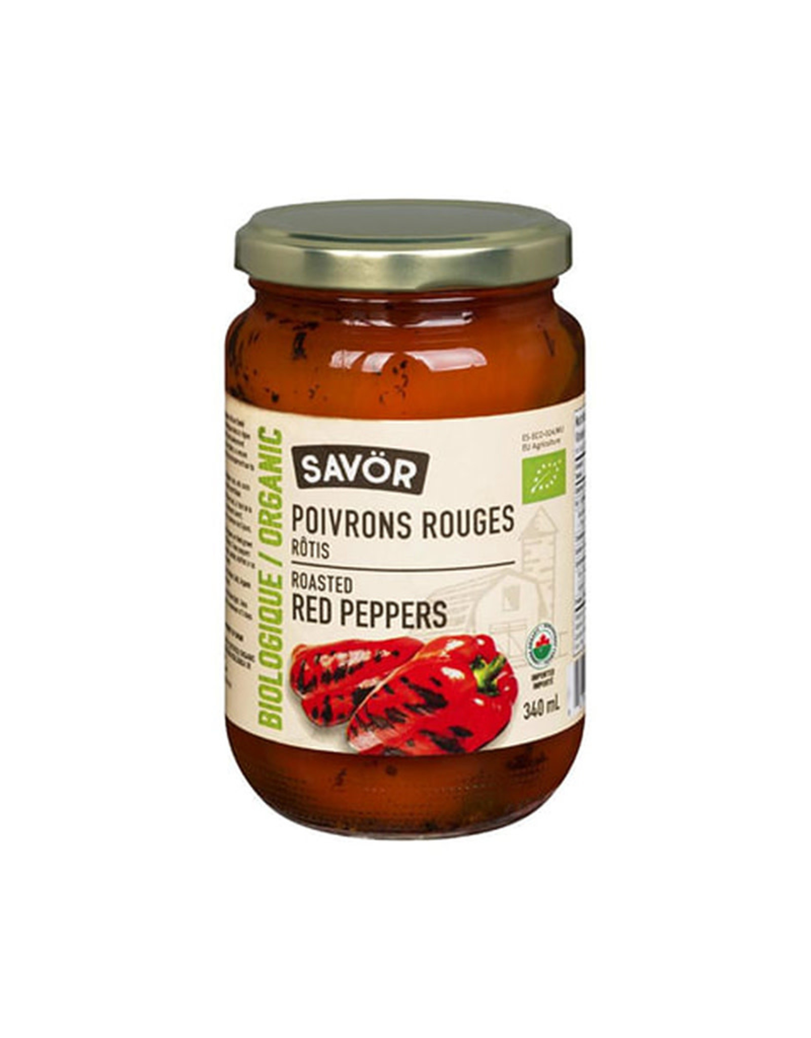 Savor Savor - Organic Roasted Red Pepper (340ml)