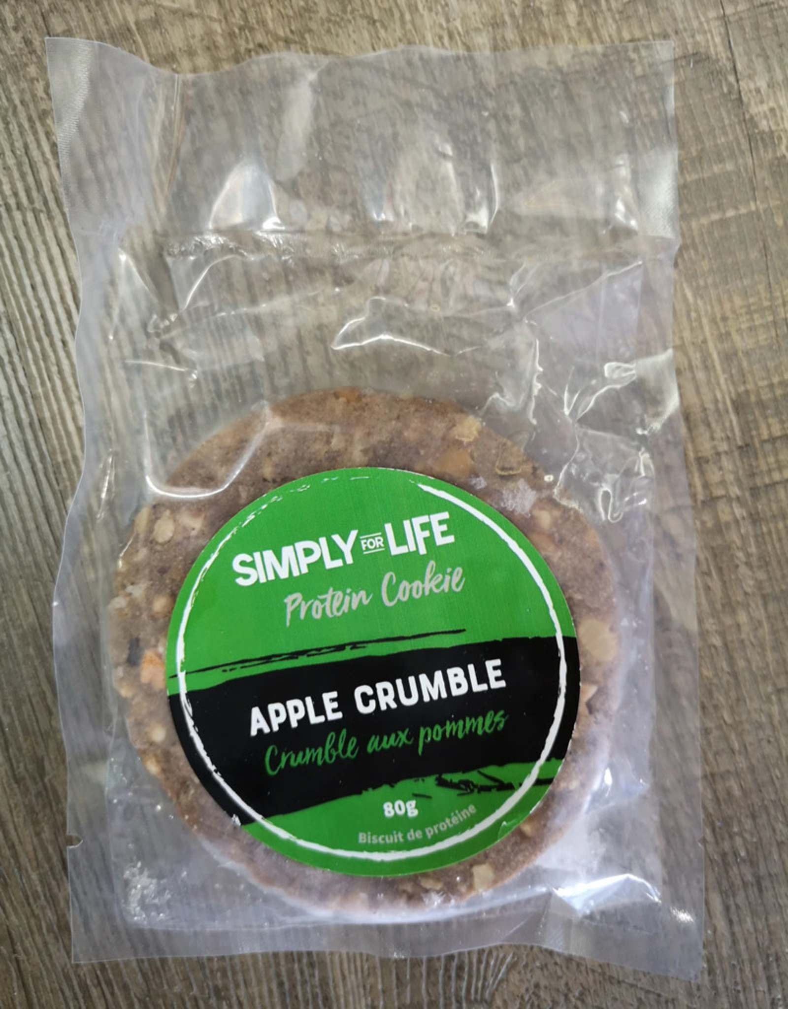 Simply For Life SFL - Protein Cookie, Apple Crumble