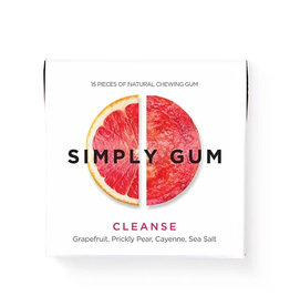 Simply Gum Simply Gum - Cleanse, Grapefruit, Prickly Pear, Cayenne, Sea Salt
