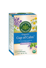 Traditional Medicinals Traditional Medicinals - Fair Trade Herbal Tea, Cup of Calm