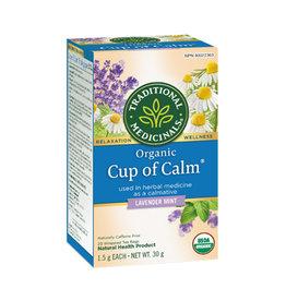 Traditional Medicinals Traditional Medicinals - Fair Trade Herbal Tea, Cup of Calm