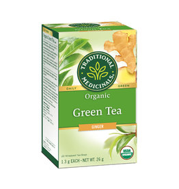 Traditional Medicinals Traditional Medicinals - Herbal Tea, Organic Green Tea Ginger
